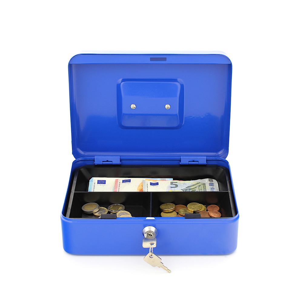 Rottner Geldkassette Traun 3 blau