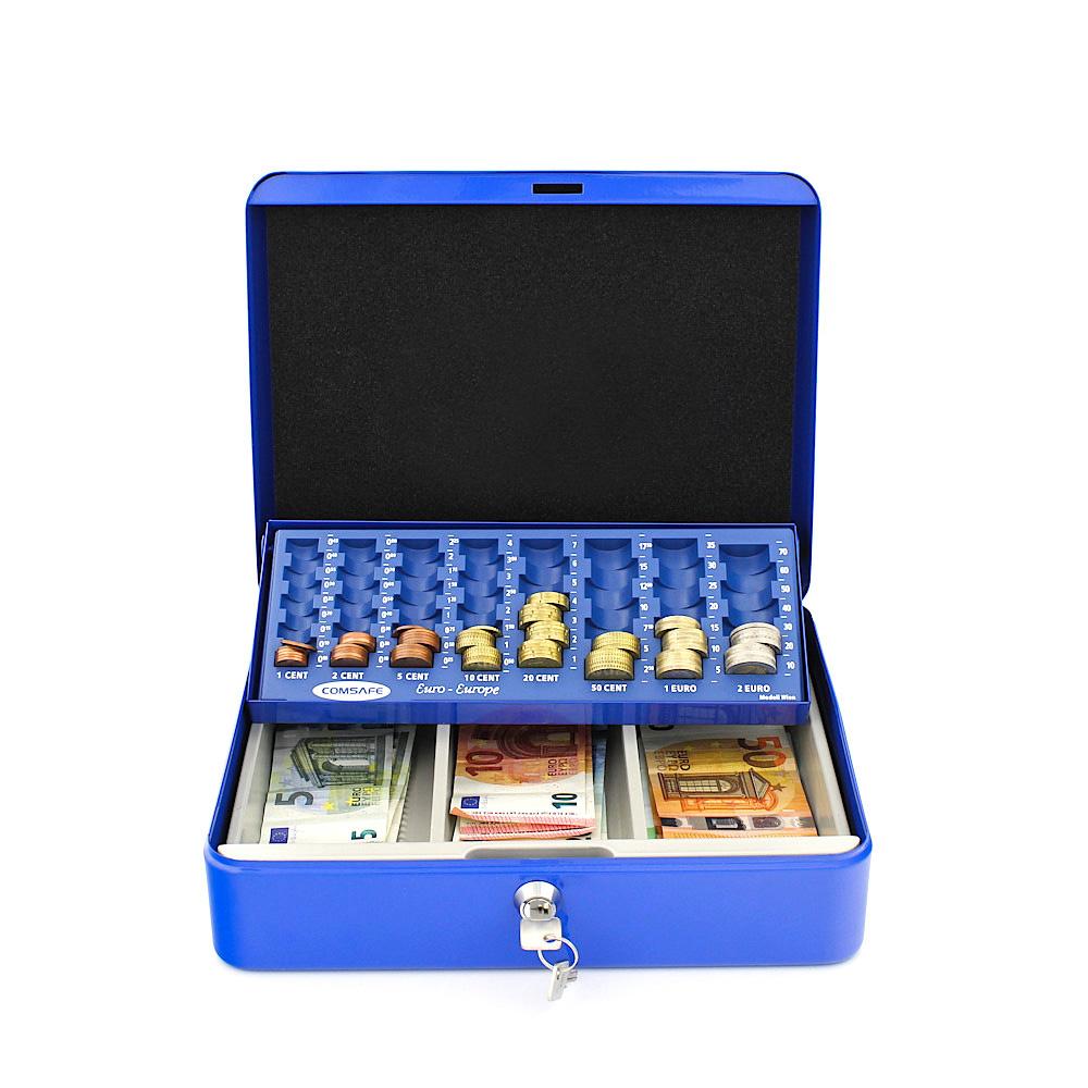 Rottner Geldzählkassette Wien blau