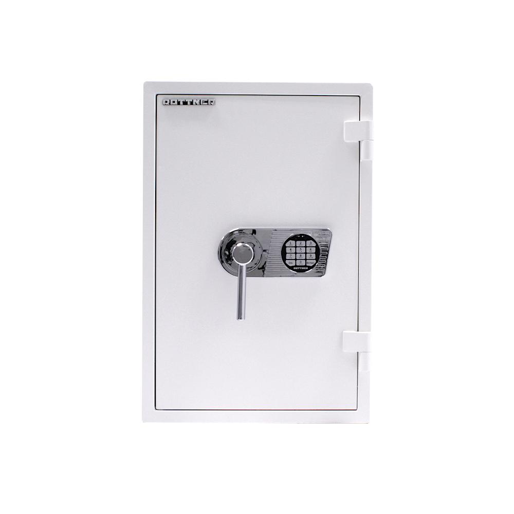 Rottner Wertschutzschrank Atlas Fire Premium 65 Elektronikschloss EN1 Weiß