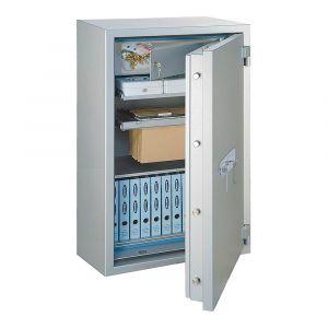 Rottner feuersicherer Papiersicherungsschrank EN2 GigaPaper 85 Premium Elektronikschloss weißaluminium
