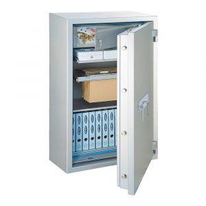 Rottner feuersicherer Papiersicherungsschrank EN2 GigaPaper 160 Premium Elektronikschloss weißaluminium