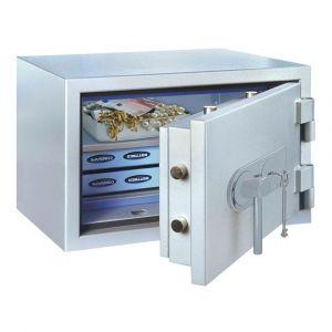 Rottner feuersicherer Papiersicherungsschrank EN1 SuperPaper 40 Premium Elektronikschloss weißaluminium