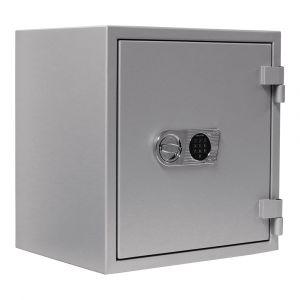 Rottner Papiersicherungsschrank EN1 Super Paper 65 Elektronikschloss Premium weißaluminium