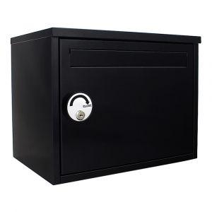 Rottner Paketbriefkasten/Paketbox Parcel Keeper Schwarz
